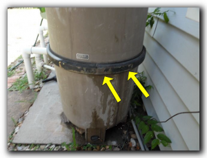 Dallas pool and spa inspection look for damage and leaks
